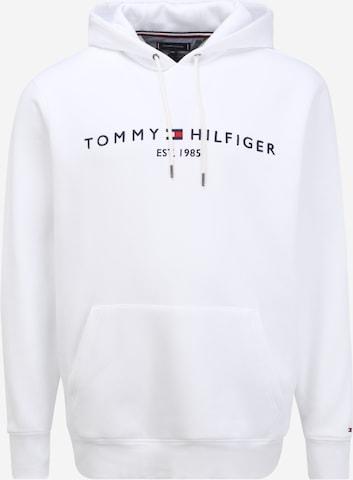 Tommy Hilfiger Big & Tall Mikina - biela