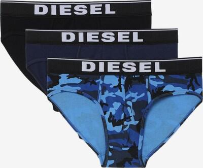 DIESEL Slip in nachtblau / himmelblau / schwarz / weiß, Produktansicht