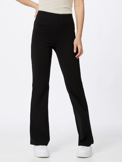 JACQUELINE de YONG Hose 'Hugh' in schwarz, Modelansicht