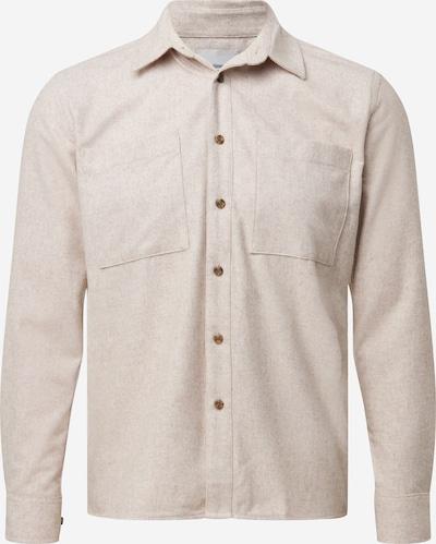 Dalykiniai marškiniai 'Brody' iš minimum , spalva - smėlio: Vaizdas iš priekio