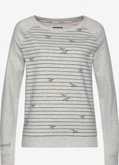 KangaROOS Sweatshirt in Blue / mottled grey / Pink, Item view