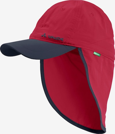 VAUDE Cap 'Sahara' in rauchblau / rot, Produktansicht