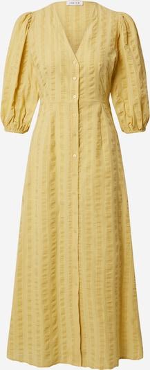 EDITED Skjortklänning 'Elena' i gul, Produktvy