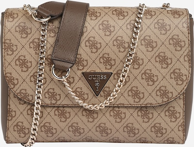 GUESS Shoulder Bag 'CORDELIA' in Brown / Dark brown, Item view