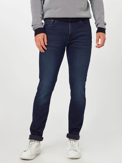 TOMMY HILFIGER Jeans 'CORE SLIM BLEECKER I' in blue denim, Modelansicht