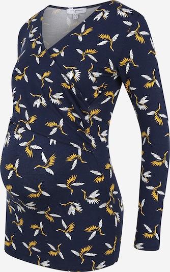 Envie de Fraise Shirt 'Fiona' in Dark blue / Yellow / White, Item view