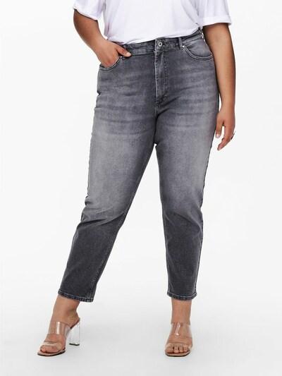 ONLY Carmakoma Mom Jeans 'Careneda' in grau, Modelansicht