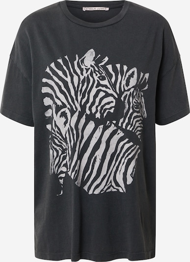 CATWALK JUNKIE T-Shirt in hellgrau / dunkelgrau, Produktansicht