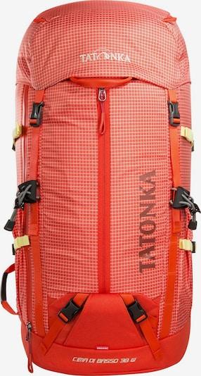 TATONKA Sac à dos de sport 'Cima Di Basso 38' en rouge pastel / noir / blanc, Vue avec produit