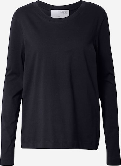 SELECTED FEMME Shirt in schwarz, Produktansicht