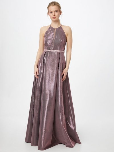 Vera Mont Abendkleid mit Strass in altrosa, Modelansicht