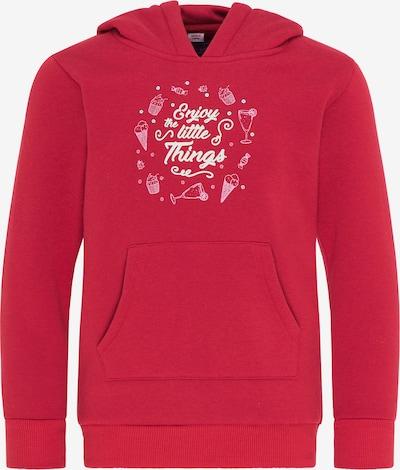 myMo KIDS Sweatshirt in de kleur Rood / Wit, Productweergave