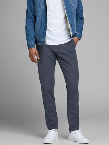 JACK & JONES Chino trousers in Blue