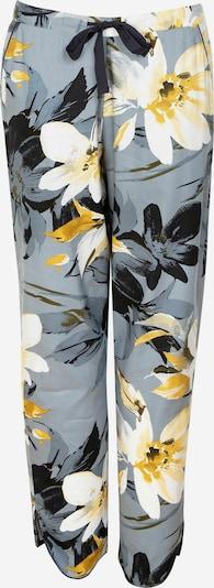 Cyberjammies Pyjamahose 'Rachel Charcoal Floral' in gelb / grau / weiß, Produktansicht