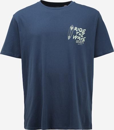 Jack & Jones Plus Majica 'STREAMS' u tamno plava / svijetlosiva, Pregled proizvoda