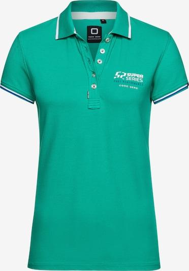 CODE-ZERO Shirt in de kleur Turquoise / Groen, Productweergave