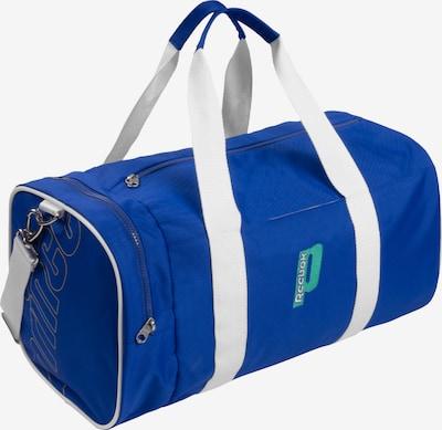 Reebok Sport Sporttasche in kobaltblau / weiß, Produktansicht