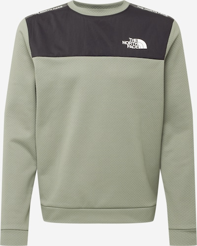 THE NORTH FACE Sportsweatshirt in de kleur Groen / Zwart / Wit, Productweergave