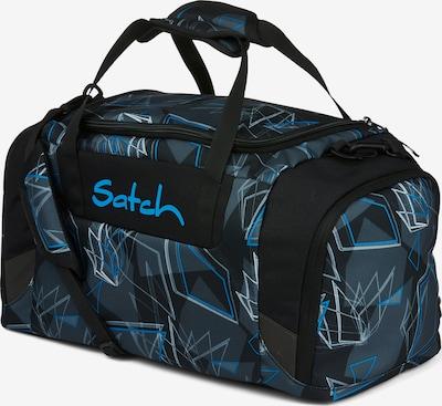 Satch Sporttasche in blau / grün / schwarz, Produktansicht