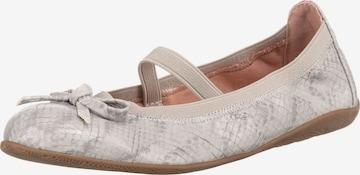 INDIGO Ballet Flats in Grey