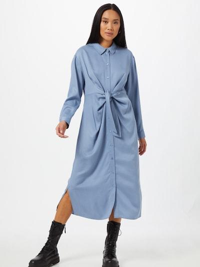 JUST FEMALE Kleid 'Obi' in blau, Modelansicht