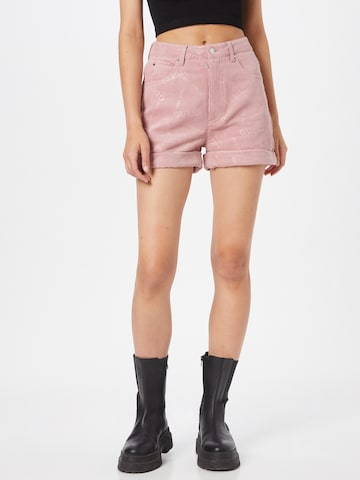 GUESS Pants 'NATALIE' in Pink