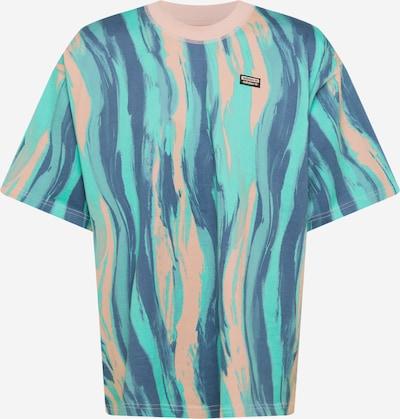 ADIDAS ORIGINALS Shirt in de kleur Blauw / Turquoise / Rosa, Productweergave