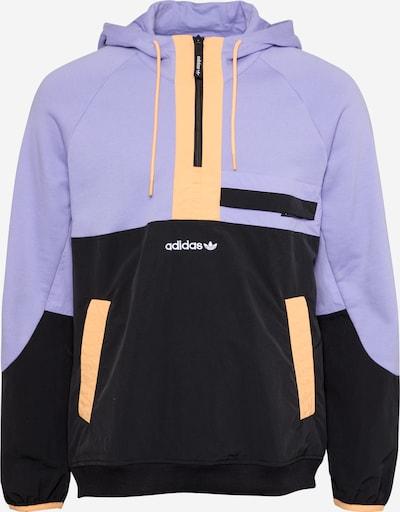 ADIDAS ORIGINALS Mikina - fialová / oranžová / černá, Produkt
