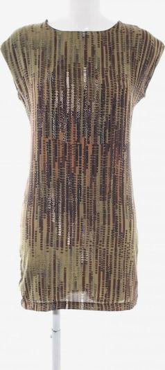 La Fée Maraboutée Kurzarmkleid in S in bronze / khaki / hellorange, Produktansicht