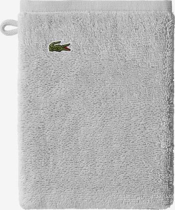 LACOSTE Washcloth 'CROCO' in Grey