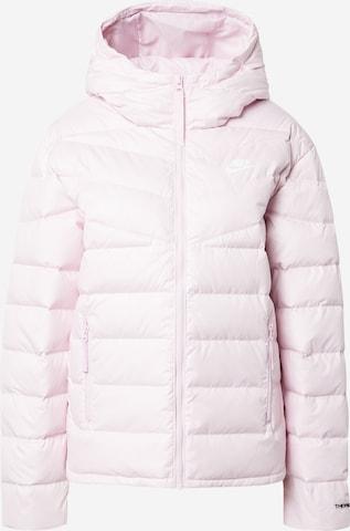 Nike Sportswear Winter Jacket in Pink