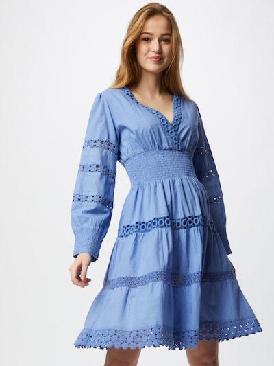 Flowers for Friends Kleid in hellblau, Modelansicht
