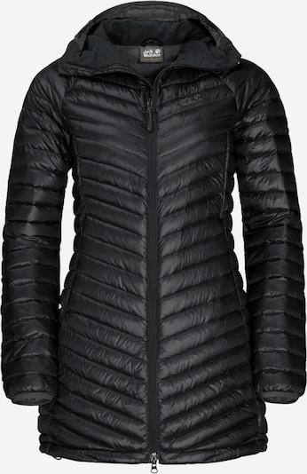 JACK WOLFSKIN Mantel 'Atmosphere' in schwarz, Produktansicht