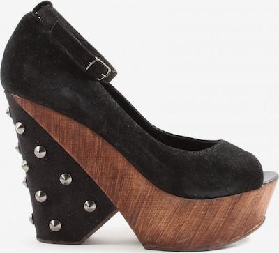 Zign Plateau-Sandalen in 37 in schwarz, Produktansicht