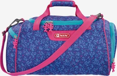 STEP BY STEP Sporttasche in blau / himmelblau / pink, Produktansicht