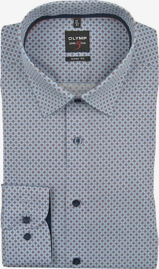 OLYMP Business Shirt in Light blue / Brown, Item view