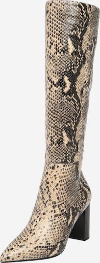 BUFFALO Kozaki 'MONICA' w kolorze beżowy / czarnym, Podgląd produktu
