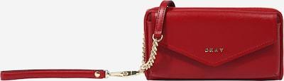 DKNY Sac à bandoulière 'Polly' en or / rouge, Vue avec produit