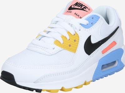 Nike Sportswear Baskets basses 'Air Max 90' en mélange de couleurs / blanc, Vue avec produit