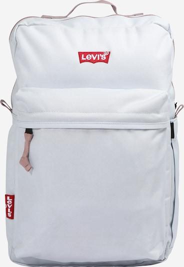 LEVI'S Rucksack 'L Pack Standard Issue' in hellblau / pastellpink / rot / weiß, Produktansicht