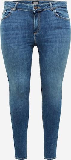 PIECES Curve Jean 'DELLY' en bleu denim, Vue avec produit