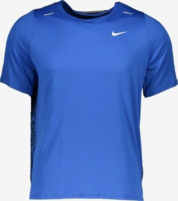NIKE Funksjonsskjorte 'Rise' i blå