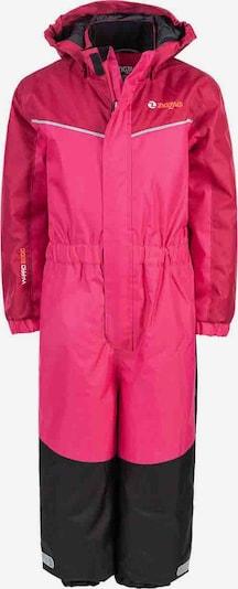 ZigZag Schneeanzug 'PAJA' in pink / schwarz, Produktansicht