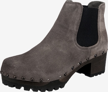 SOFTCLOX Chelsea Boots 'Isabelle' in Grau