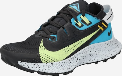 NIKE Running shoe 'Pegasus Trail 2' in Blue / Yellow / Black, Item view