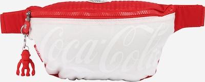 KIPLING Чанта за кръста 'FRESH' в червено / бяло, Преглед на продукта