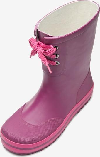 ZigZag Gummistiefel 'Burry' im skandinavischen Stil in pink / himbeer, Produktansicht