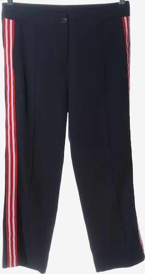 Maryley Stoffhose in M in blau / rot / weiß, Produktansicht
