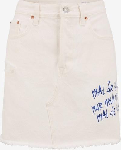 LEVI'S UPCYCLING Jeansrock Wavvyboi Design' in weiß, Produktansicht
