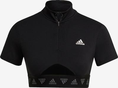 ADIDAS PERFORMANCE Top in schwarz / weiß, Produktansicht